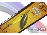 "Блесна ""Trout Pro"" Spinner Minnow LONG, арт. 38536, вес 14 г., цвет 010"